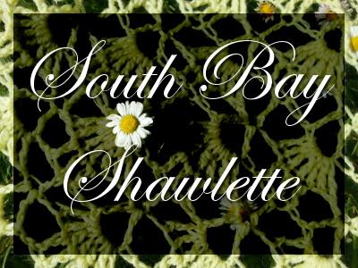Un châle au crochet facile et juste magnifique : le South Bay Shawlette