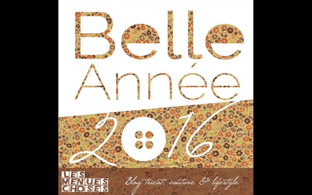Une belle année 2016 à tous!