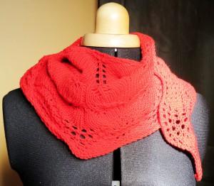 chale tricot élégant